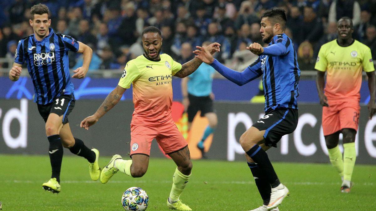 Manchester City gegen Atalanta Bergamo