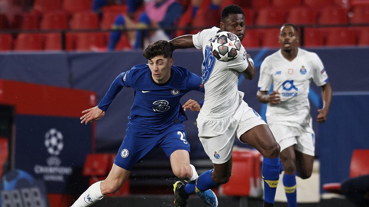 Kai Havertz a Porto elleni meccsen.