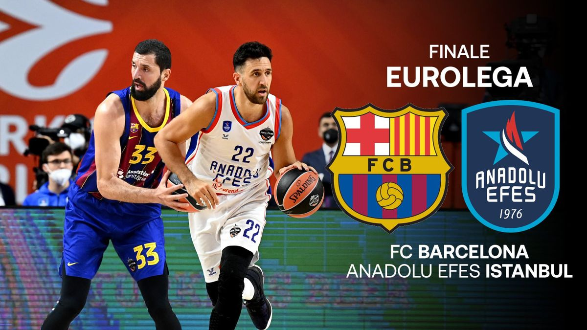 Finale Eurolega: Barcellona vs Efes Istanbul