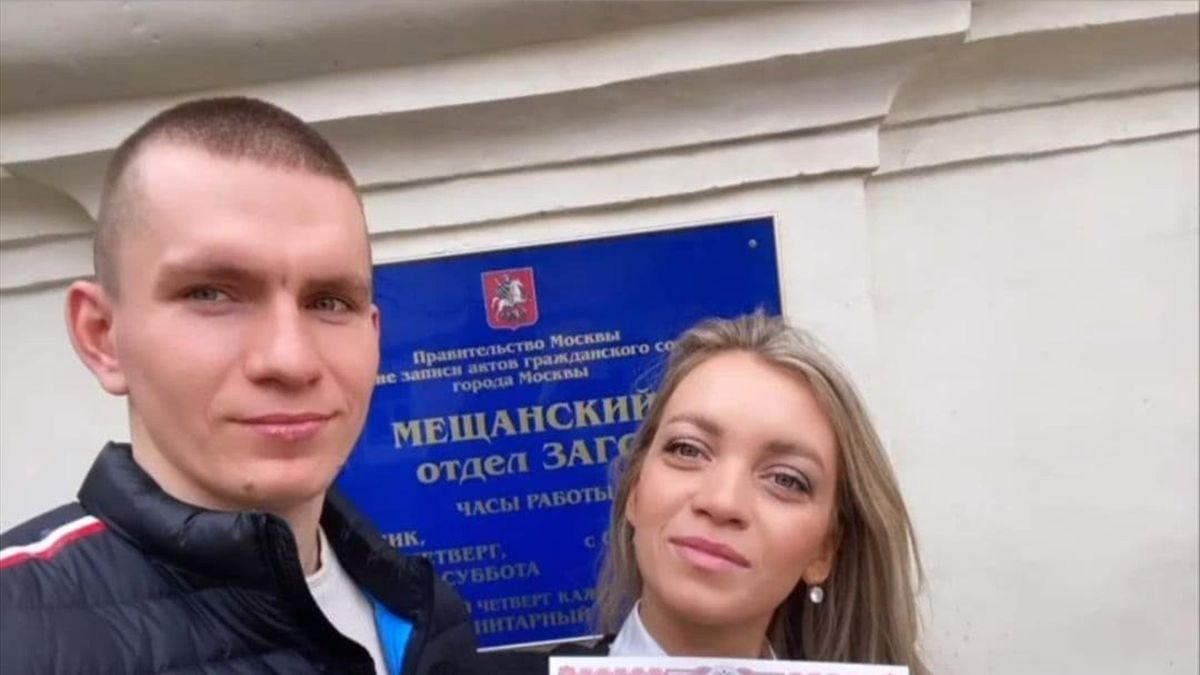 Александр Большунов и Анна Жеребятьева