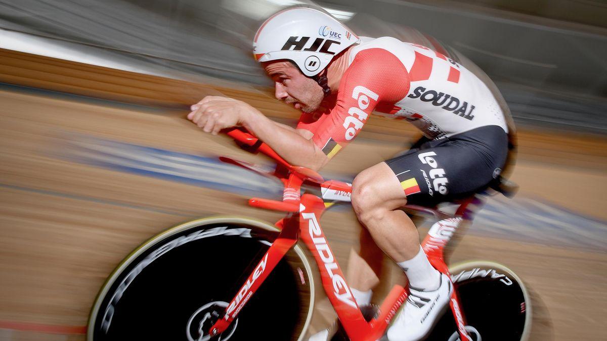 Campenaerts bricht Stundenweltrekord von Bradley Wiggins