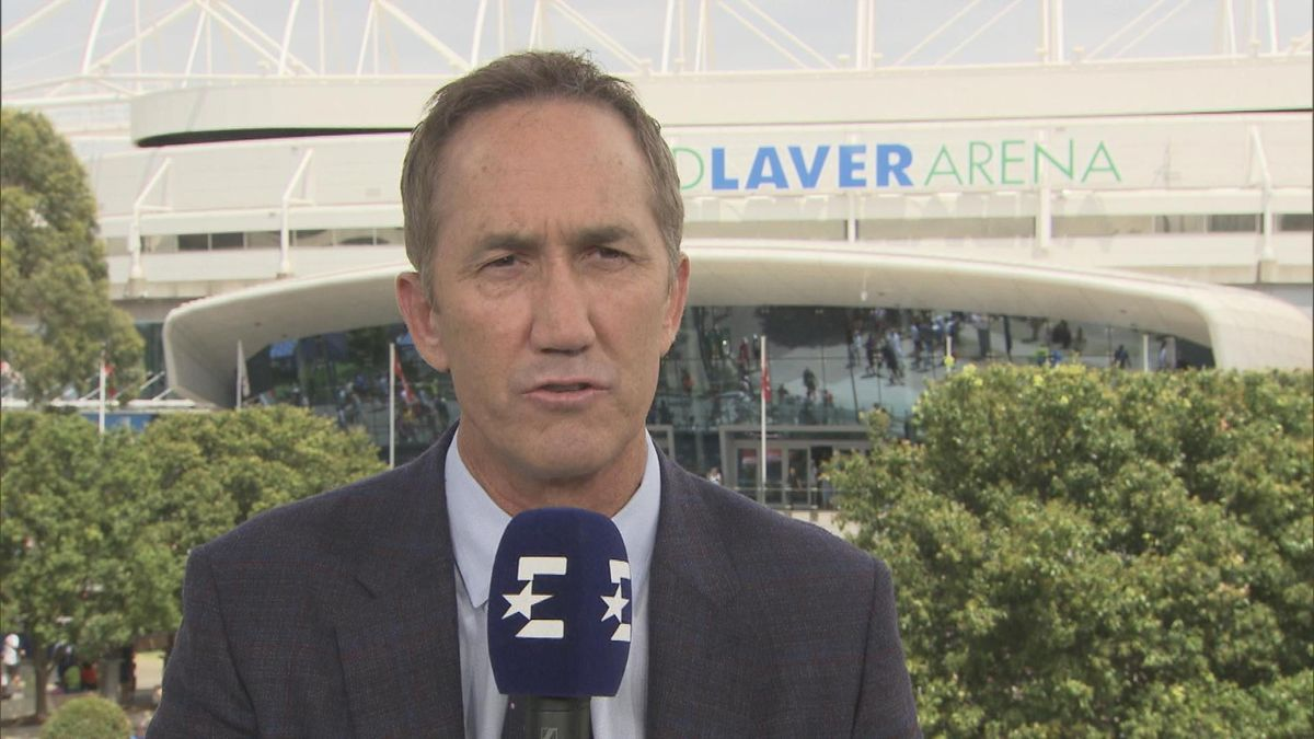 Australian Open: Interview Cahill in english