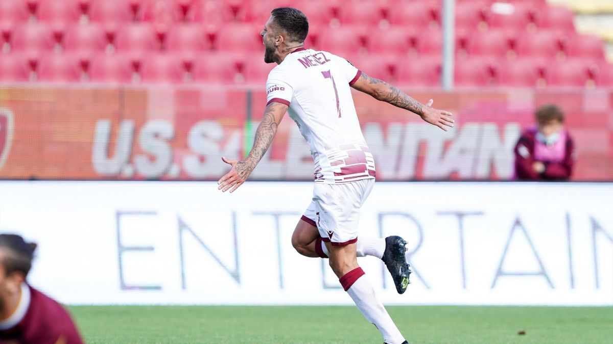 Salernitana-Reggina, Serie B 2020-2021: Jérémy Ménez (Reggina) (Getty Images)