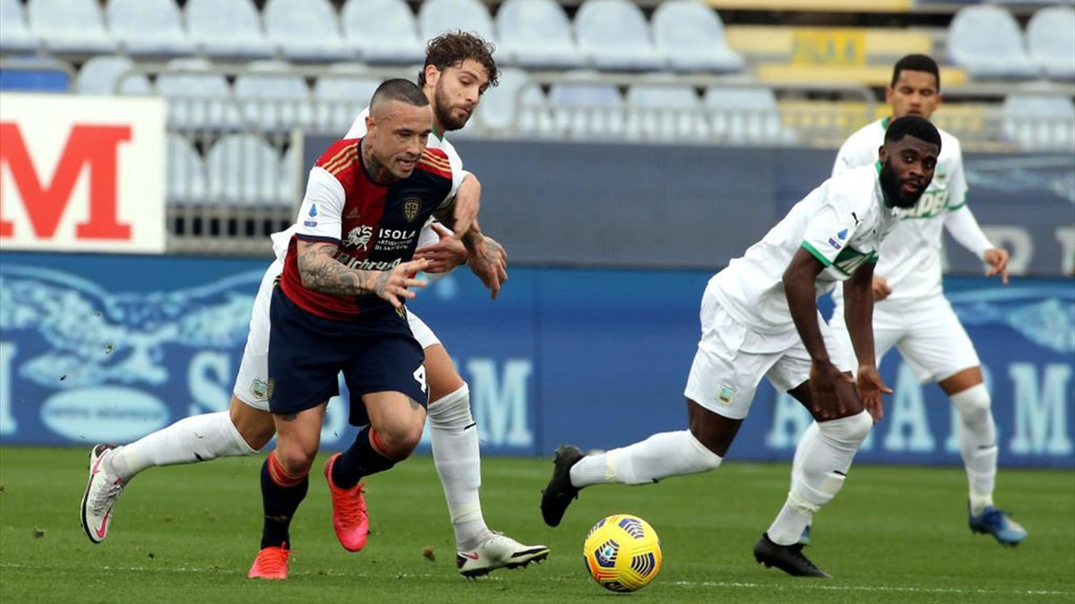 Radja Nainggolan - Cagliari-Sassuolo Serie A 2020-21