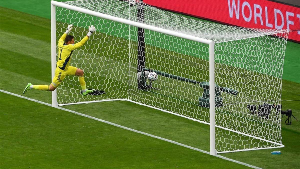 Patrick Schick's goal against Scotland