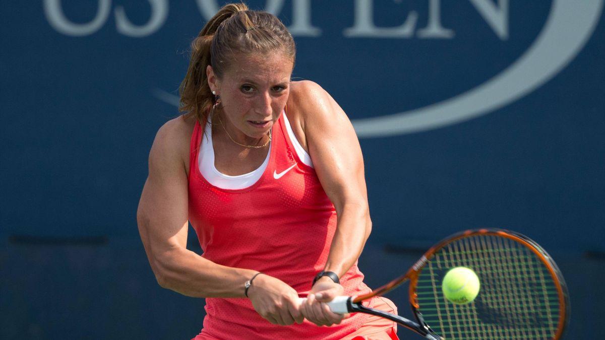Steht im Halbfinale in Québec: Annika Beck