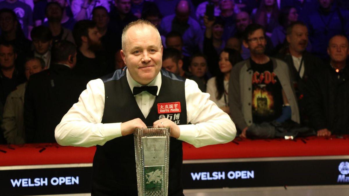 John Higgins wins the Welsh Open (Credit WPBSA)