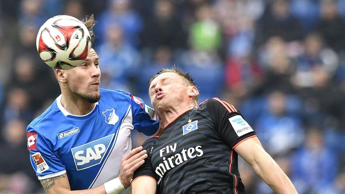 HSV-Sütmer Ivica Olic kam gegen Hoffenheim wie seine Kollegen meist einen Schritt zu spät