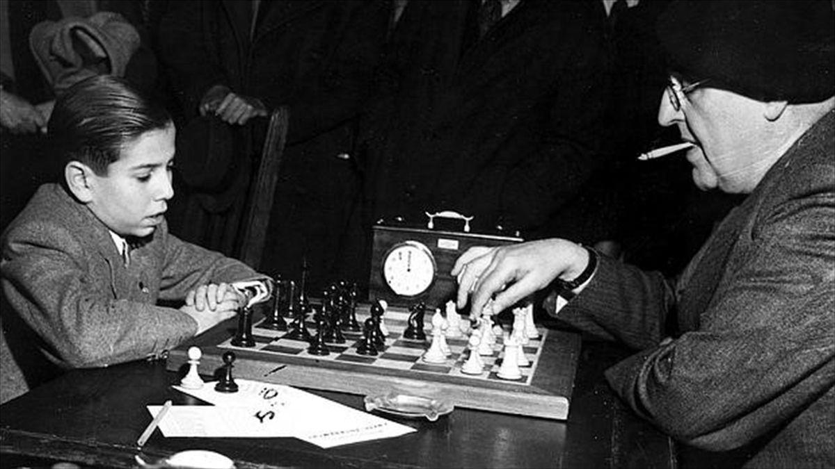 Arturito Pomar, jugador de ajedrez