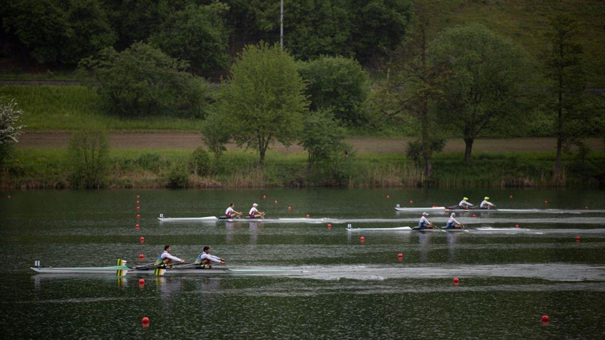 Lørdagens OL-kvalifisering i Luzern, Sveits.
