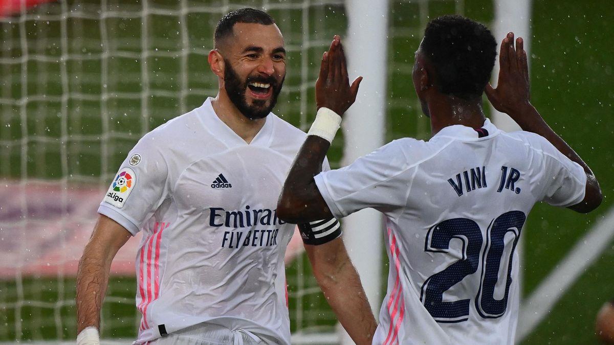Karim Benzema y Vinícius Paixão (Real Madrid)
