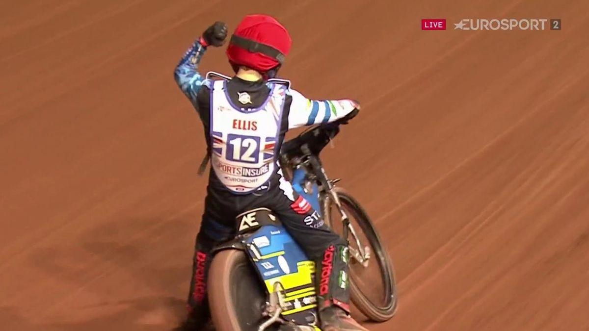 Ellis wins British Speedway Final
