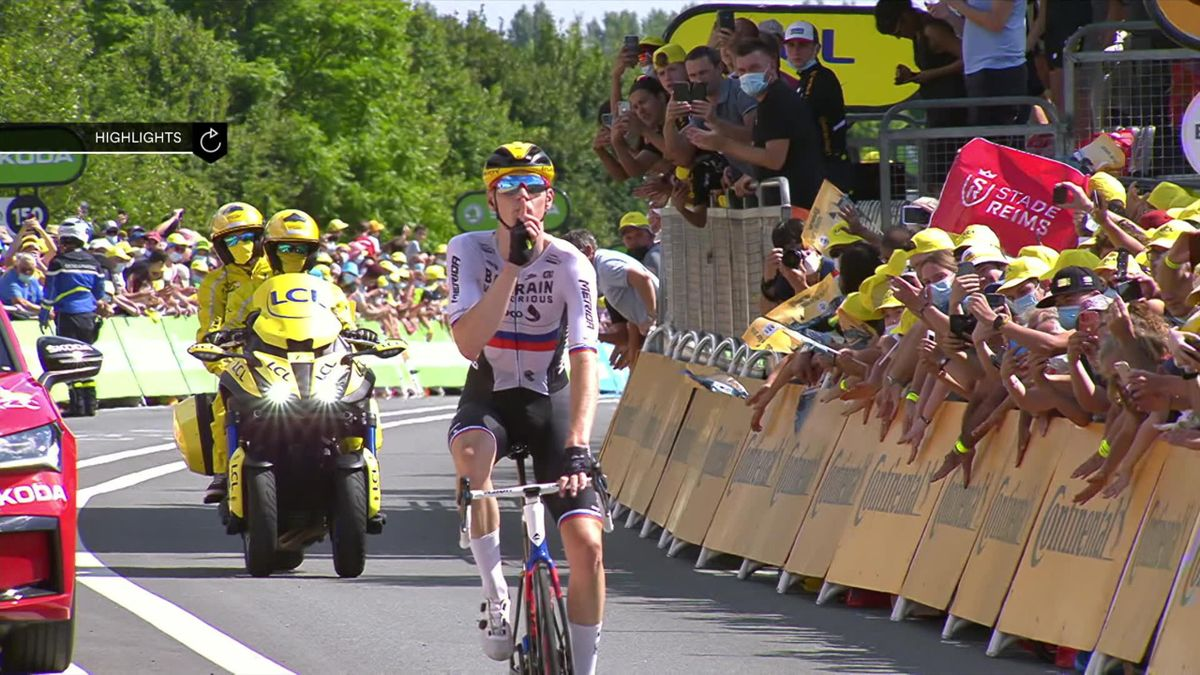 Stage 19 Highlights - Mohoric steals the show as Cavendish has to wait