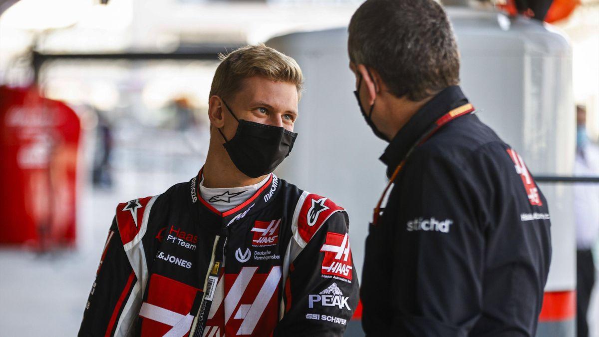 Mick Schumacher (links) geht 2021 für Haas in der Formel 1 an den Start