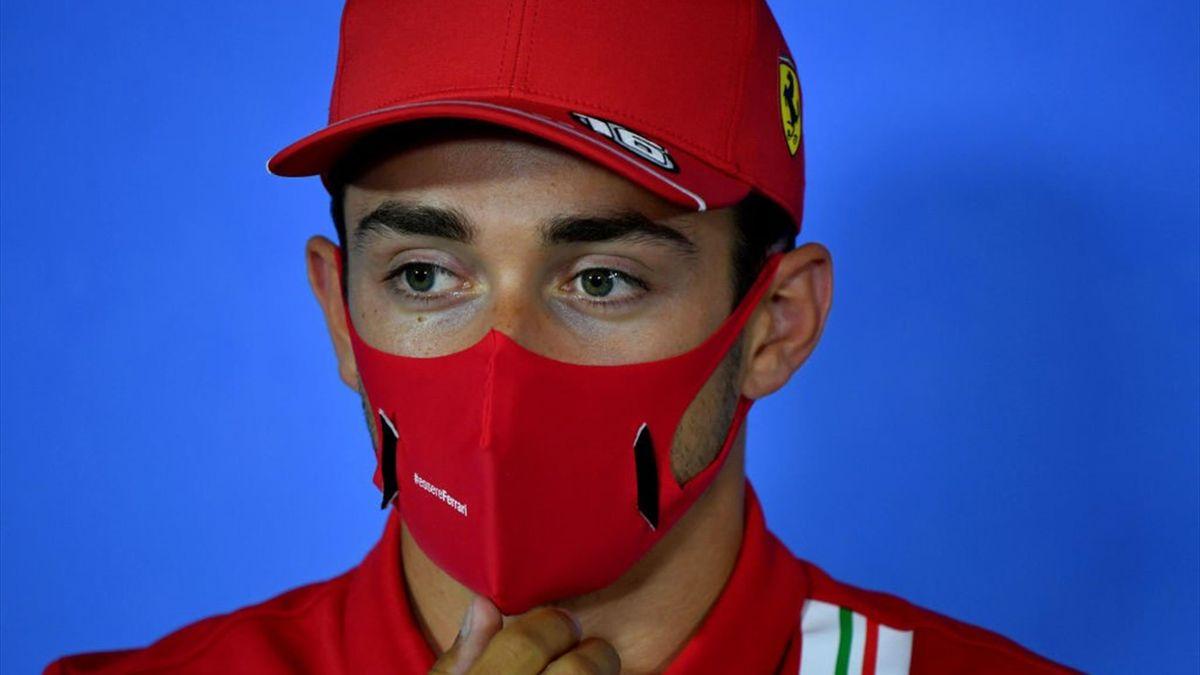Charles Leclerc (Ferrari) au Grand Prix d'Autriche 2020