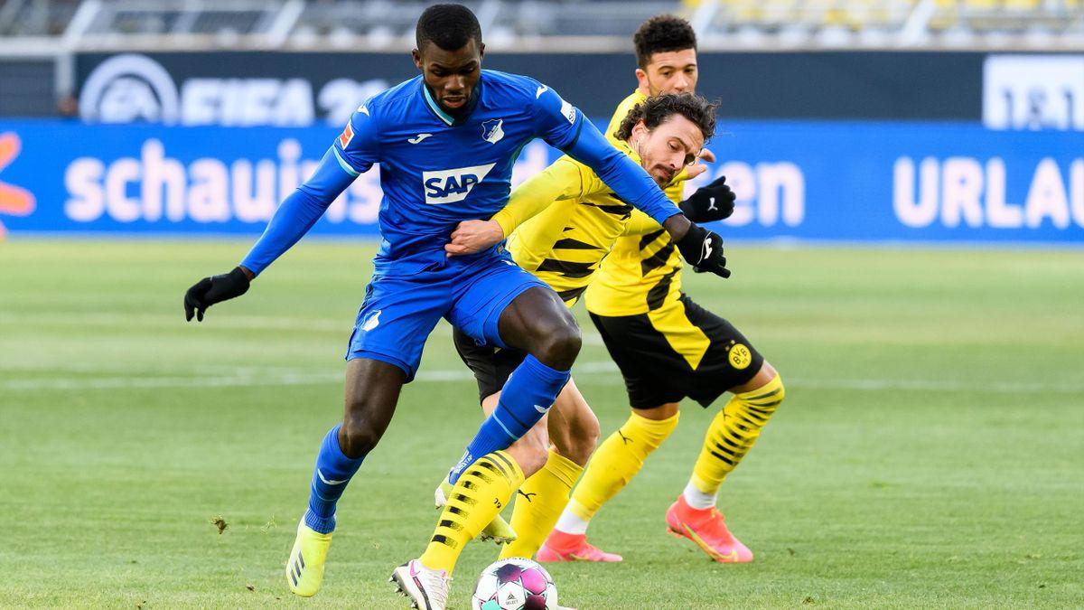 Borussia Dortmund gegen die TSG 1899 Hoffenheim
