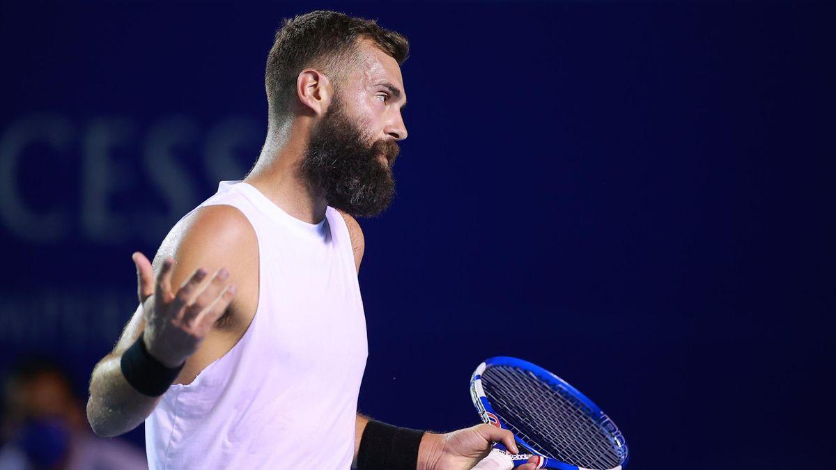 Benoît Paire (ATP 500 Acapulco 2021)