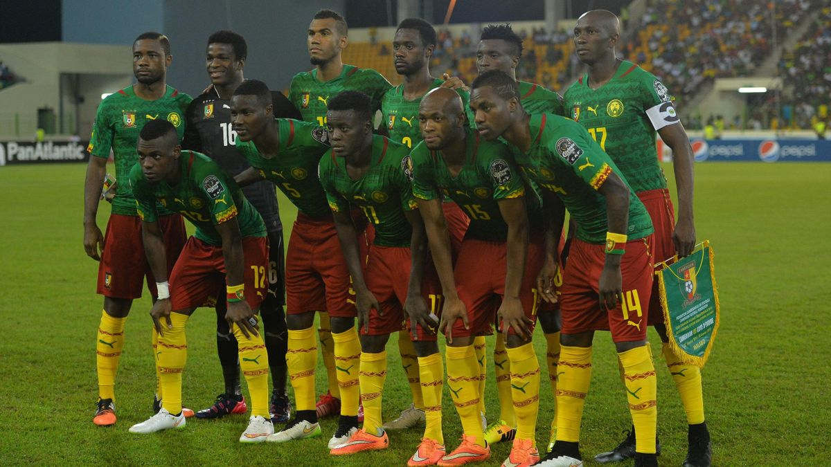 2015, Cameroon national team (imago, NOT in FRA)