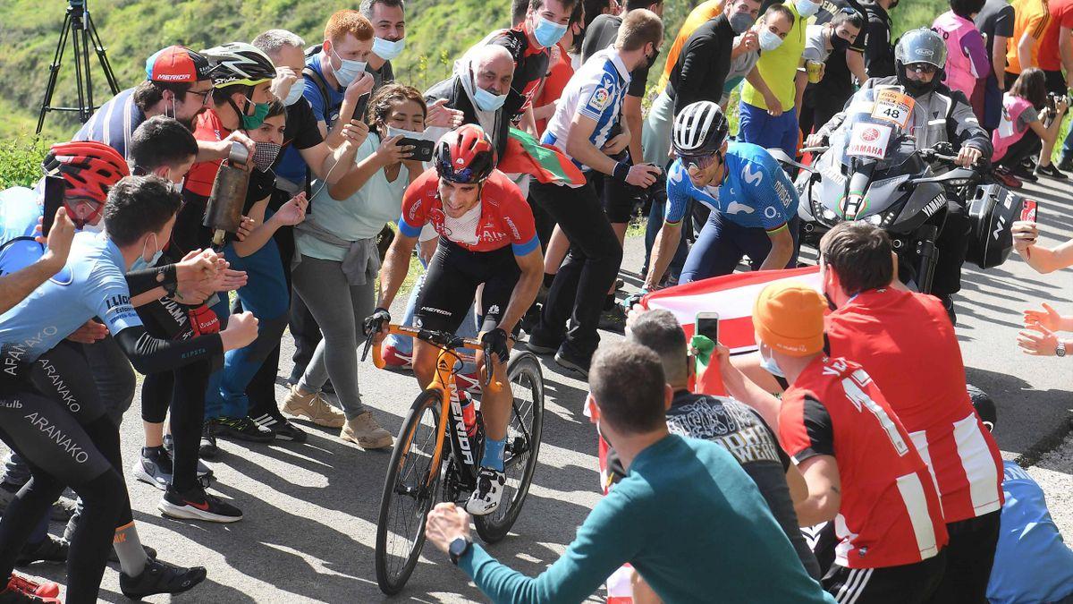 Mikel Landa al Giro dei Paesi Baschi 2021 - Imago pub not in FRAxNED