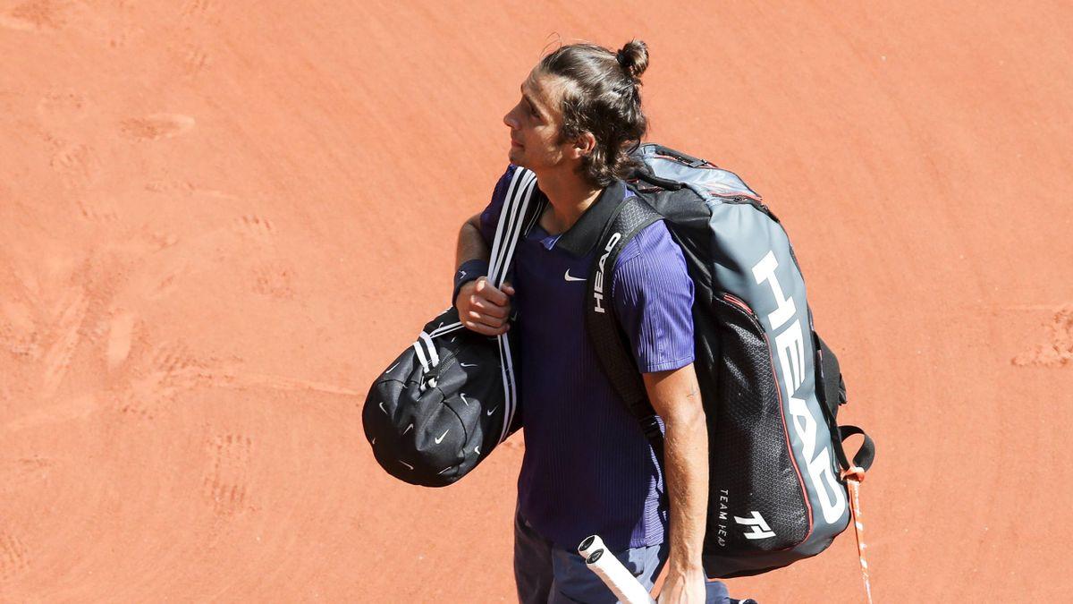Lorenzo Musetti bei den French Open in Paris