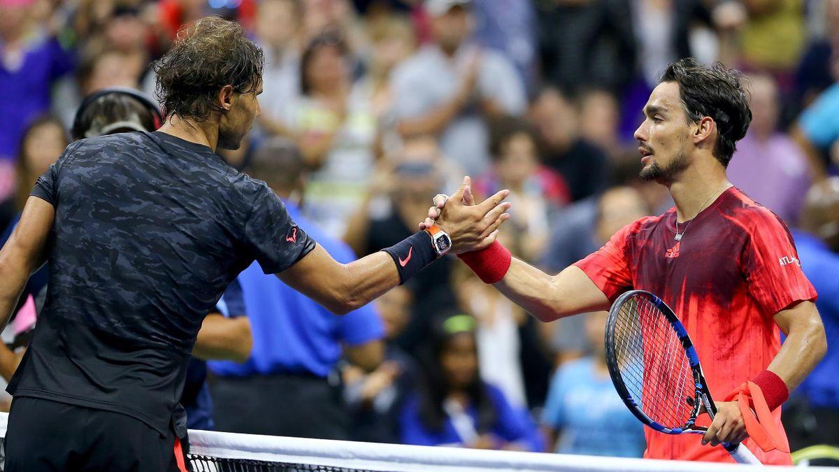 Rafael Nadal - Fabio Fognini (US Open 2015)