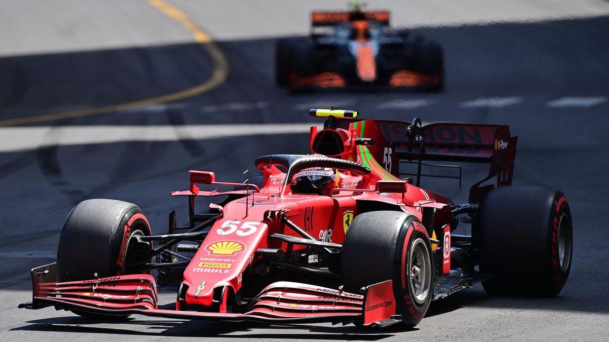 Carlos Sainz (Ferrari) in Monte Carlo