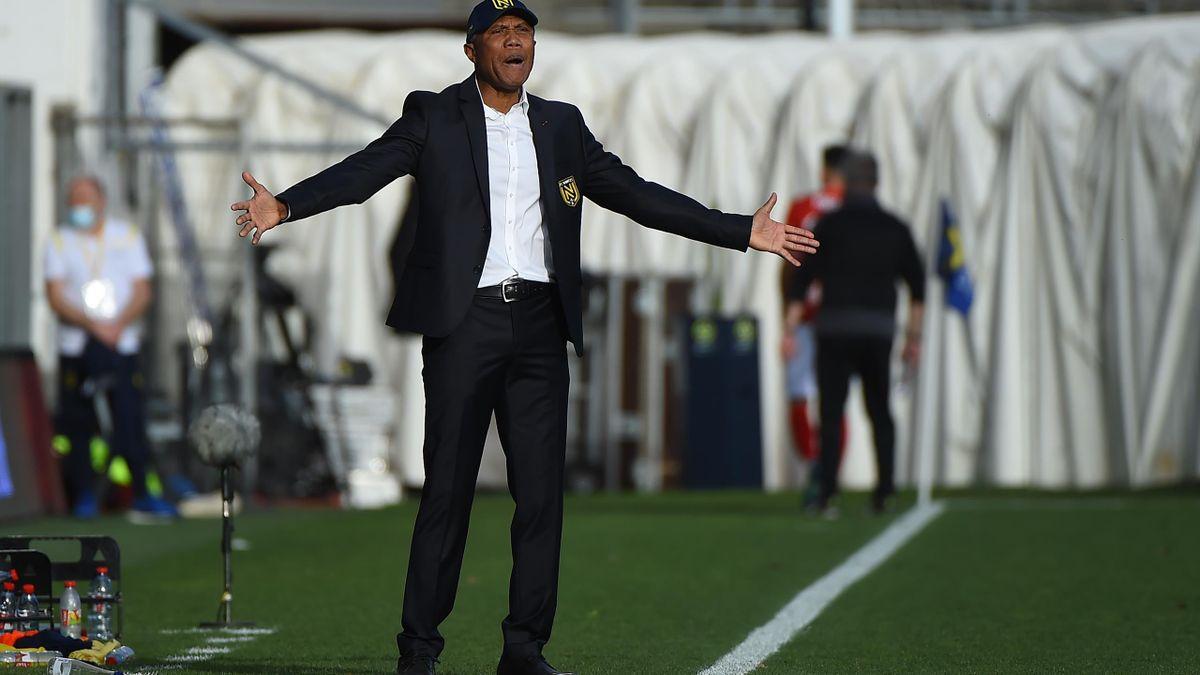 Antoine Kombouaré ne semble pas vraiment maîtriser la situation au FC Nantes