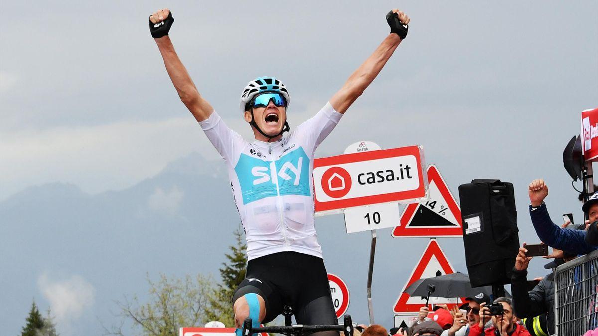 Giro d'Italia 2018: Chris Froome (LaPresse)