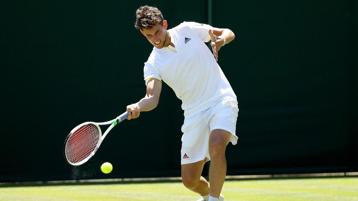 Dominic Thiem / Wimbledon 2018