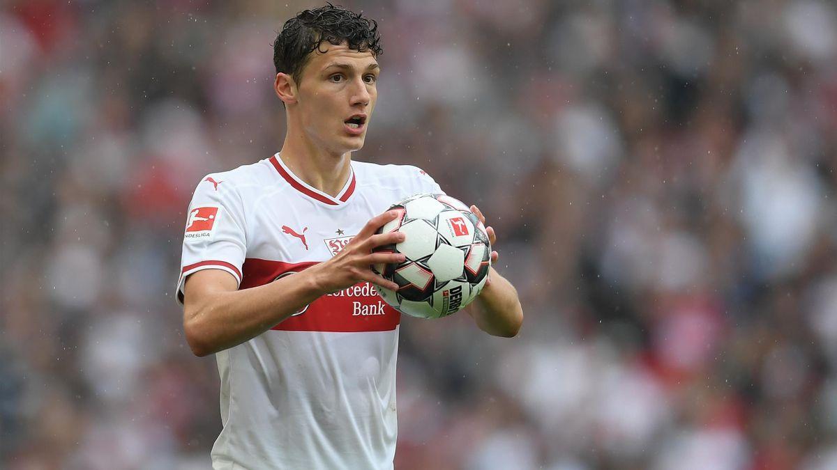 Benjamin Pavard (im Trikot des VfB Stuttgart)