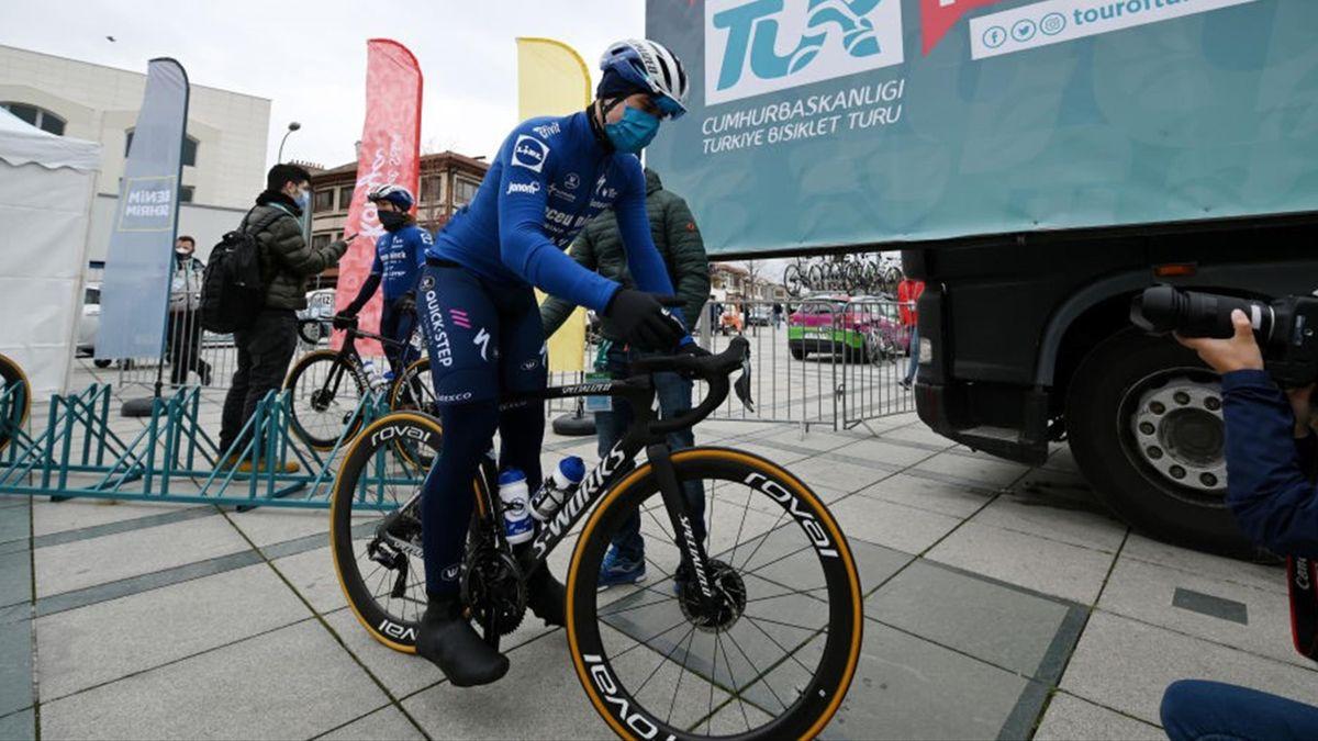 Fabio Jakobsen alla partenza della 1a tappa del Giro di Turchia 2021 - Getty Images