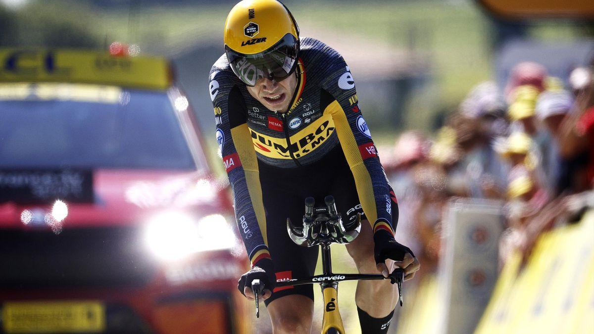 Tour de France | Wout van Aert verslaat concurrentie ook in tijdrit