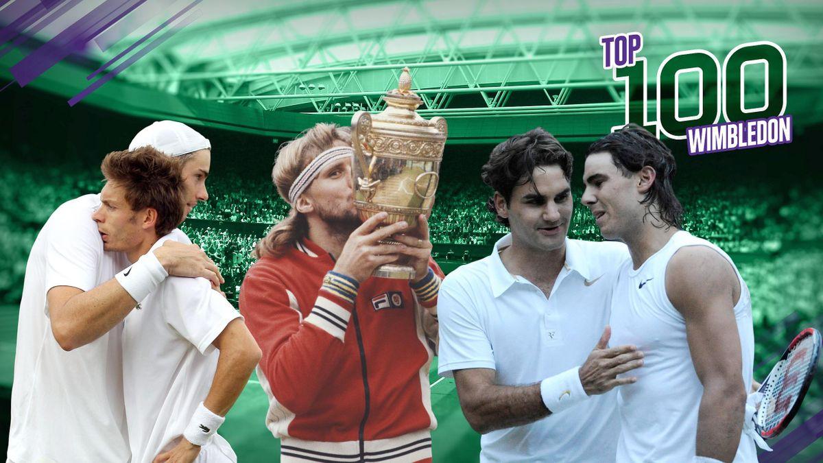 Top 100 Wimbledon - Le podium