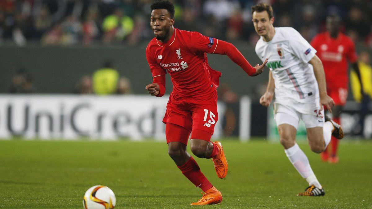 Liverpool's Daniel Sturridge in action
