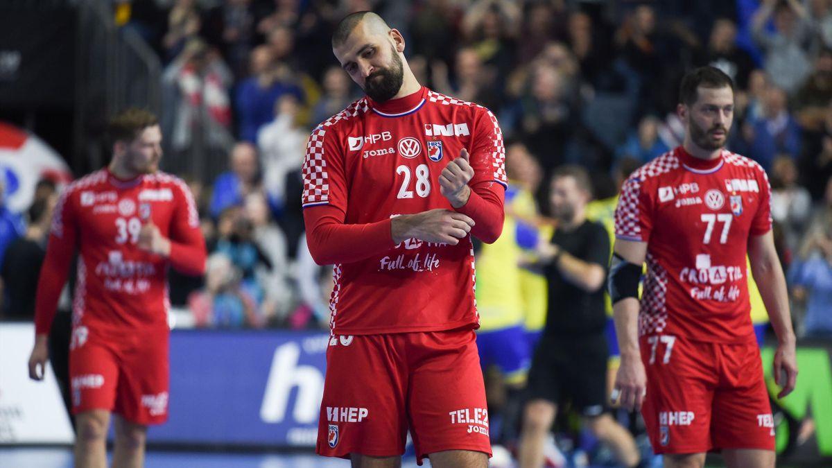 La déception des Croates, battus par le Brésil - Championnat du monde 2019