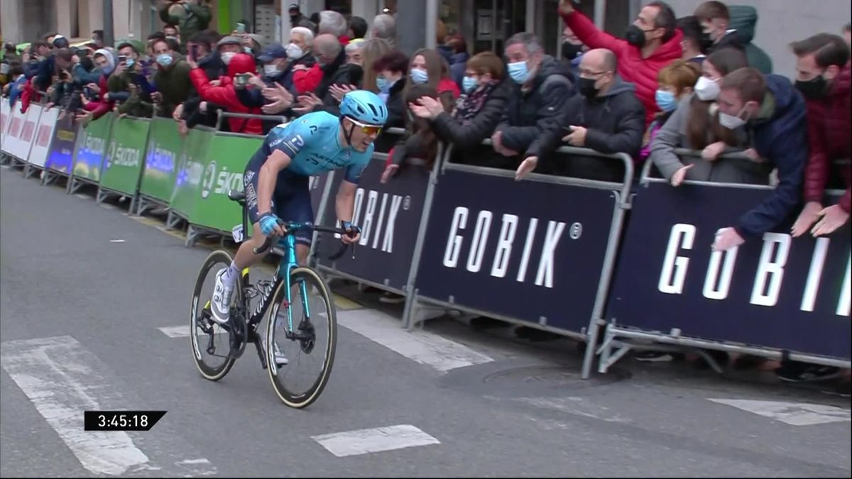 Itzulia Basque Country 2021 Stage 2 Highlights - Alex Aranburu takes the win