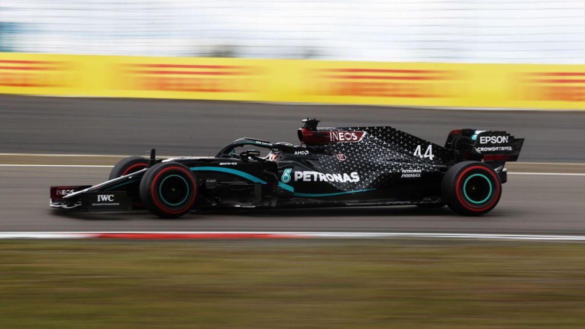 Lewis Hamilton (Mercedes) au Grand Prix de l'Eifel 2020