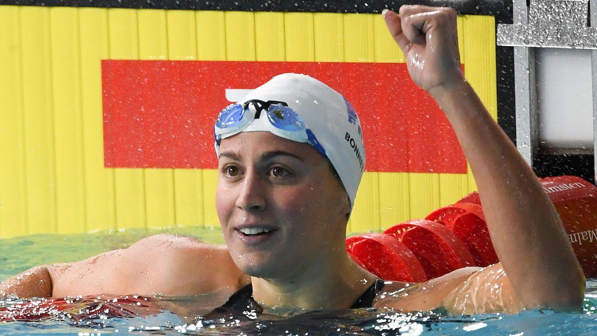 Charlotte Bonnet titrée sur 200m nage libre aux championnats d'Europe