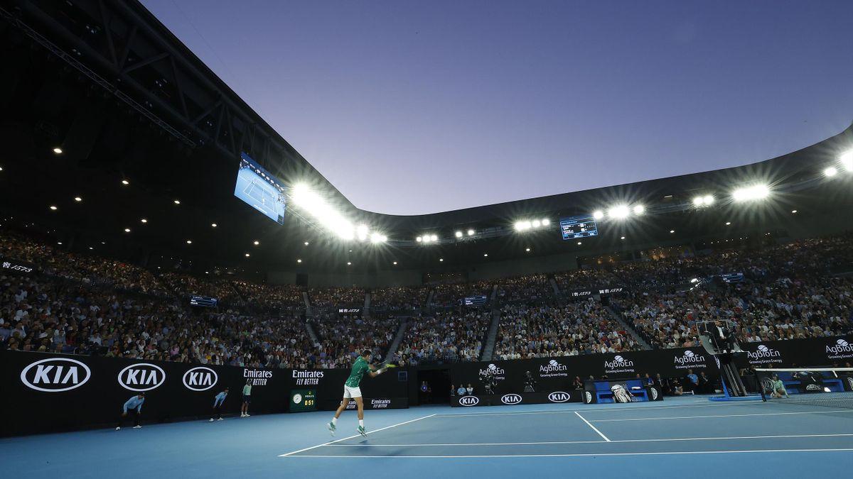 La Rod Laver Arena lors de l'Open d'Australie 2020