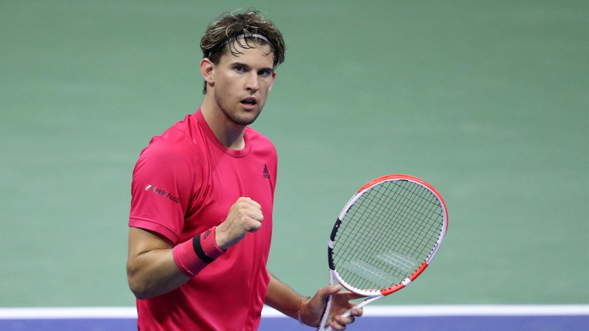 Dominic Thiem bei den US Open 2020