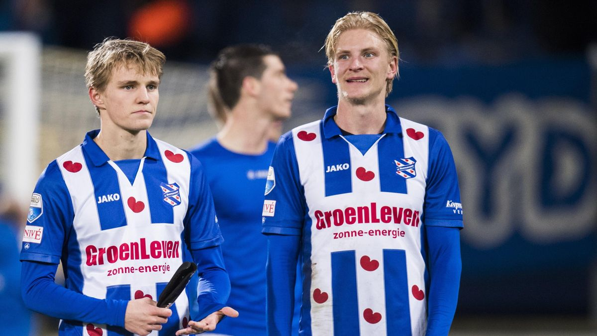 Martin Ødegaard og Morten Thorsby