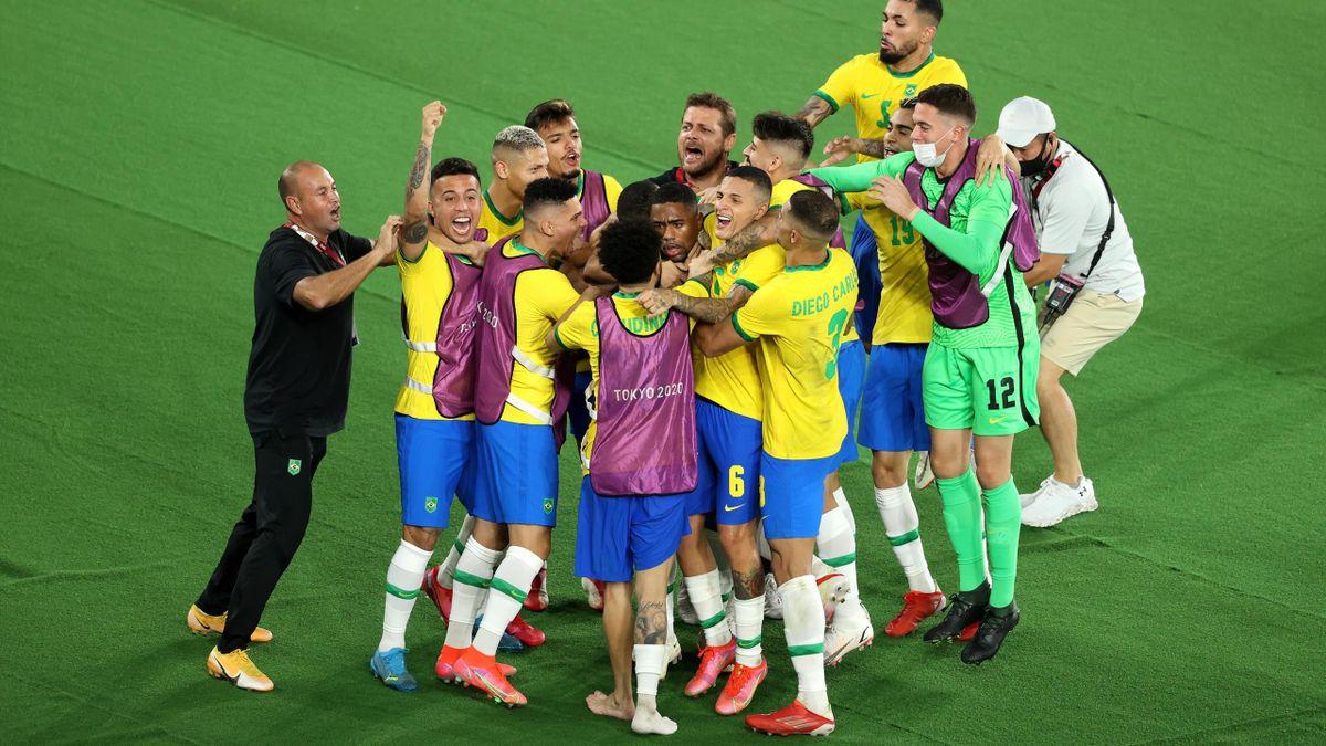 Brazil olympisch kampioen voetbal!
