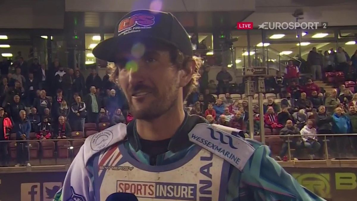 'I'm so happy' - Ellis delighted after winning British Speedway Final