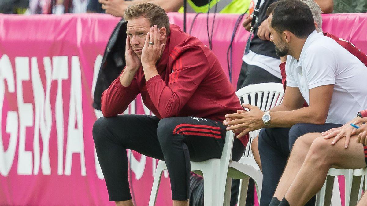 Julian Nagelsmann beim Testspiel gegen Köln