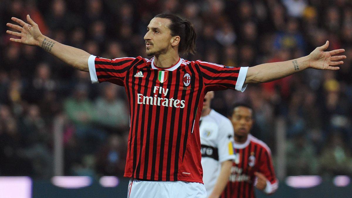 Zlatan Ibrahimovic - AC Mailand