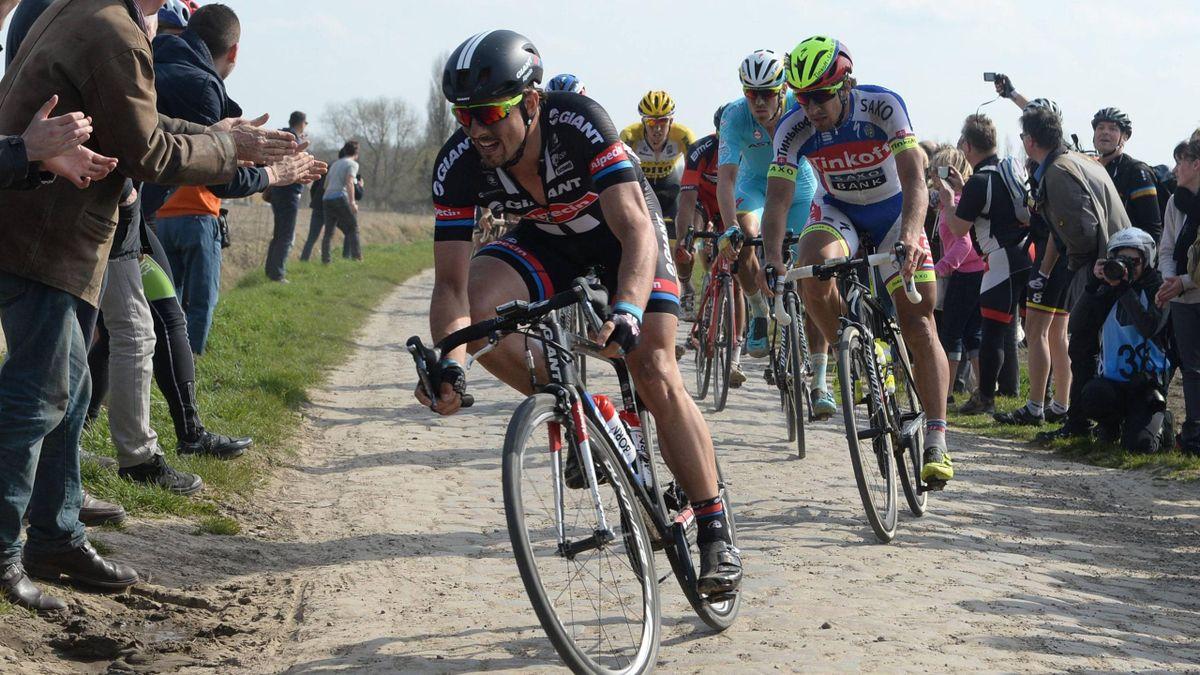 John Degenkolb, Peter Sagan - Roubaix 2015