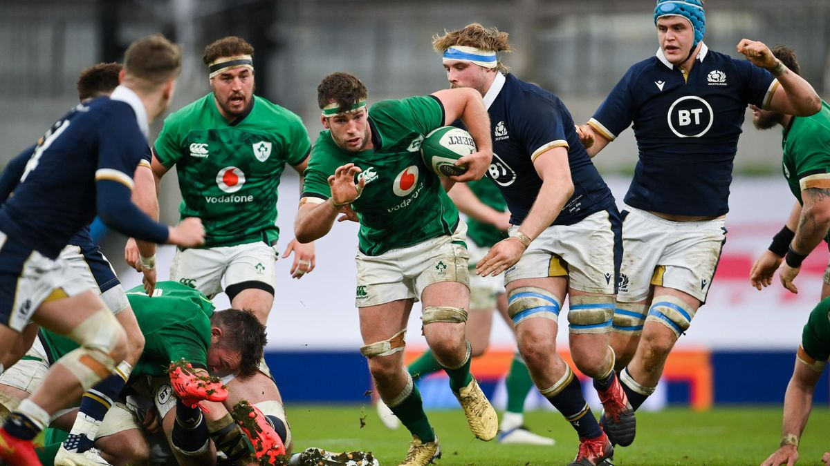 Ireland and Scotland will meet at the 2023 World Cup in France