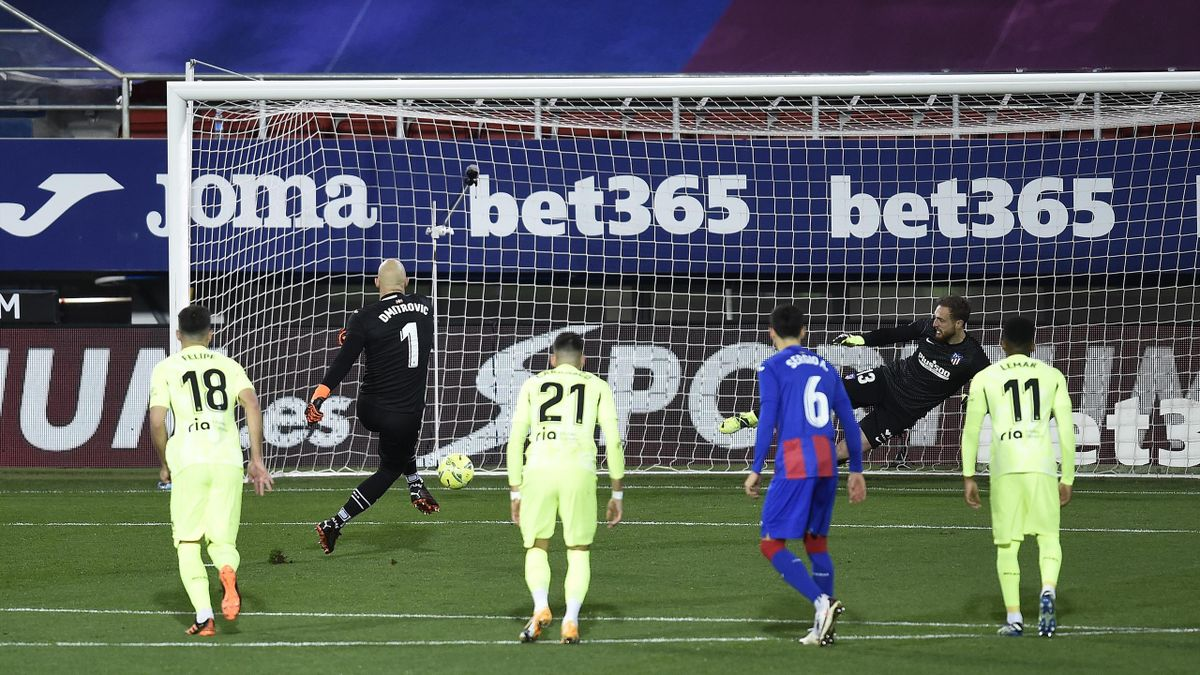 Dmitrovic, Eibar-Atletico Madrid, Liga 2020/21, Getty Images