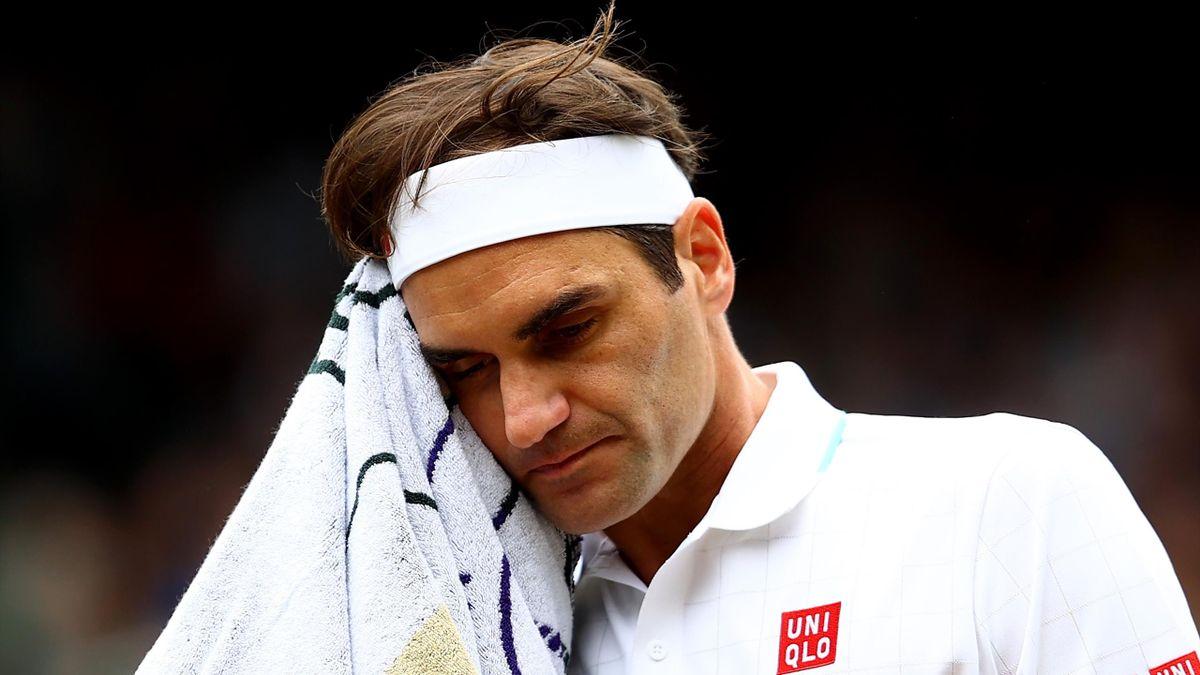 Roger Federer scheiterte in Wimbledon im Viertelfinale an Hubert Hurkacz