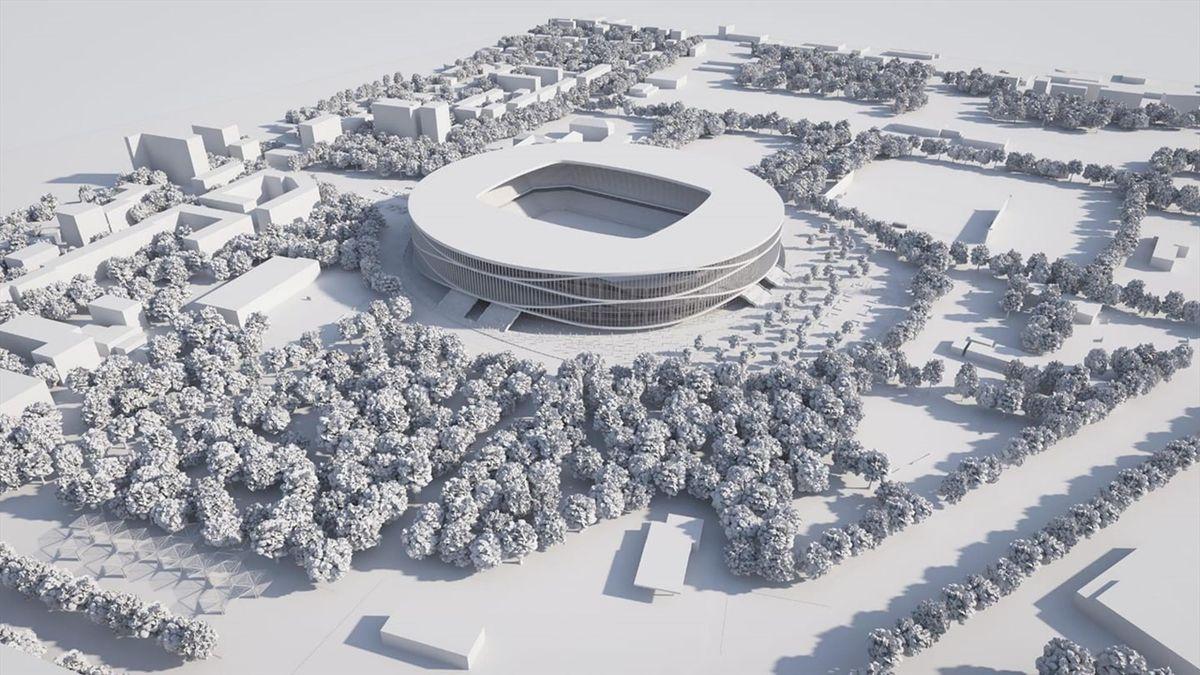 Noul stadion care se construiește în Timișoara